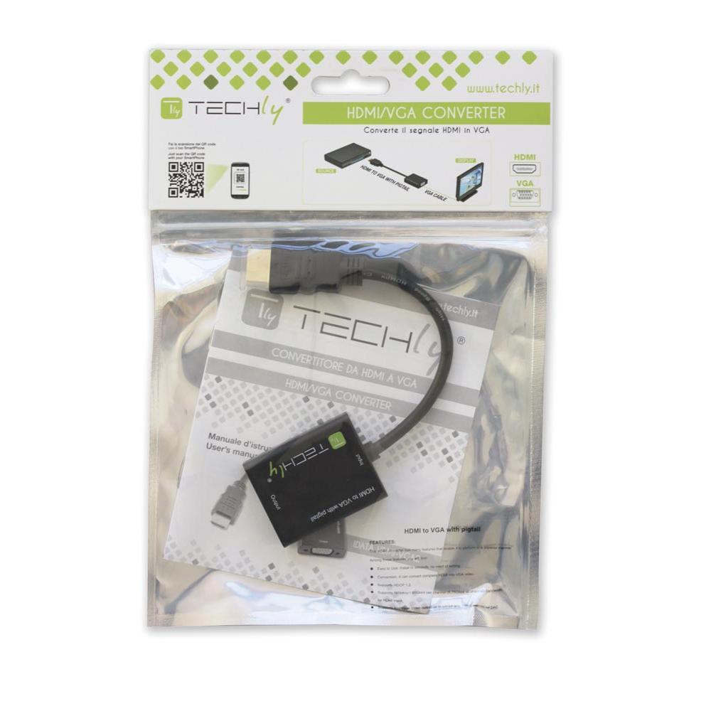 Cavo Convertitore e Adattatore da HDMI a VGA