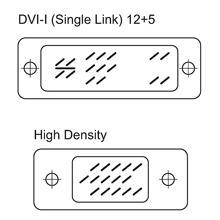 Cavo Monitor DVI-A a VGA M/M 1,8 mt
