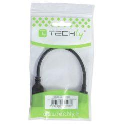 Cavo OTG per Trasmissione dati e Ricarica USB 2.0 con Slot Micro SD