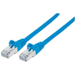 Cavo Patch Cat.7 Plug RJ45 6A S/FTP LSZH 0,5m Blu