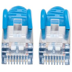 Cavo Patch Cat.7 Plug RJ45 6A S/FTP LSZH 10m Blu