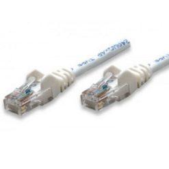 Cavo di rete Patch CCA Cat. 5e Bianco UTP 0,5 mt