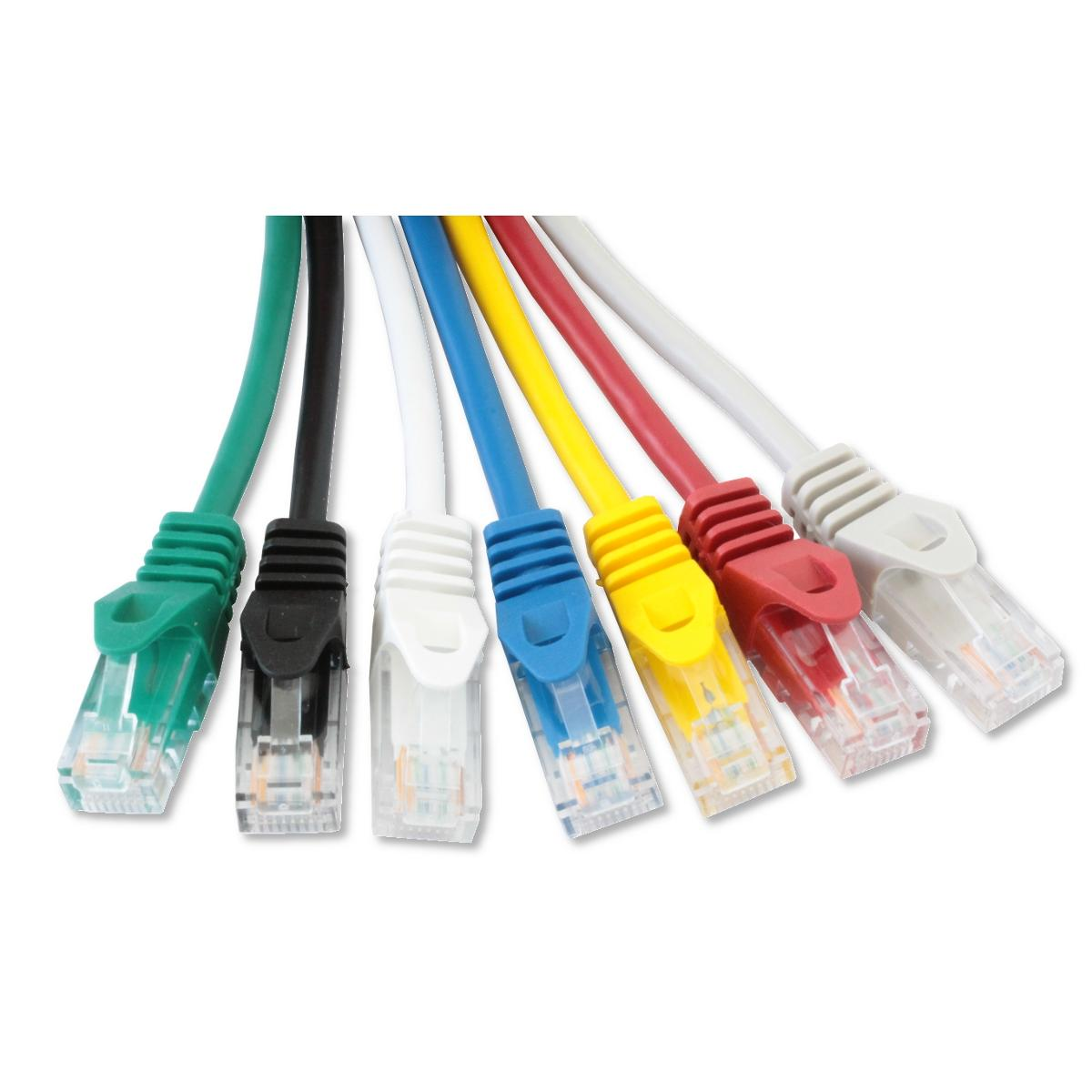 Cavo di rete Patch in CCA Cat.6 Blu UTP 20m