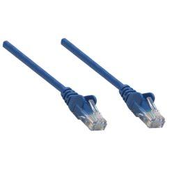 Cavo di rete Patch in Rame Cat. 6 Blu UTP 3 mt