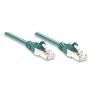 Cavo di rete Patch in Rame Schermato Cat. 5e Verde FTP 2 mt