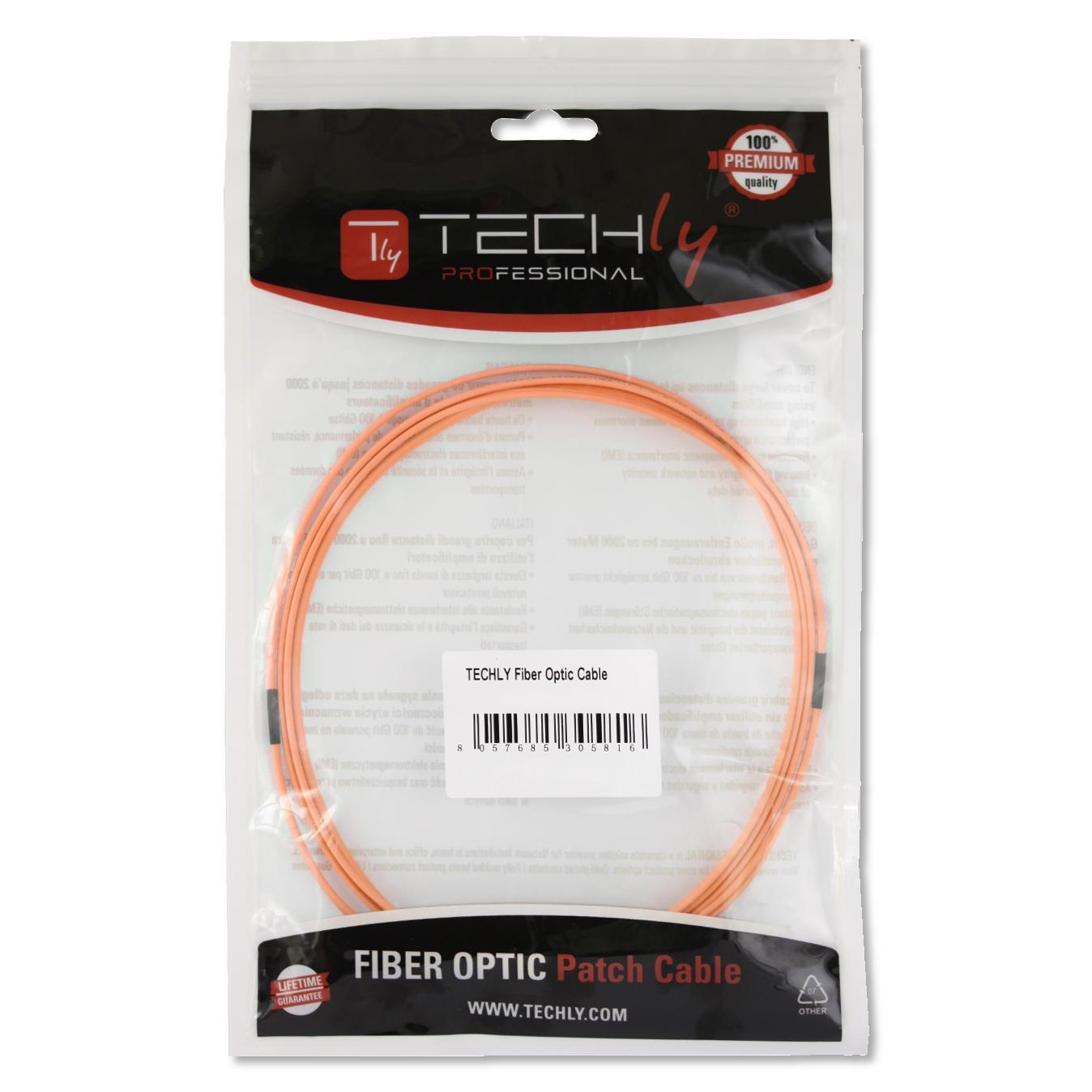 Cavo fibra ottica SC/LC 50/125 Multimodale 1 m OM2