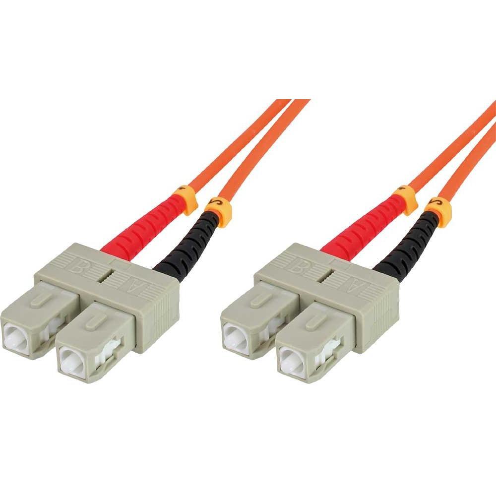 Cavo fibra ottica SC/SC 62,5/125 Multimodale 10 m OM1