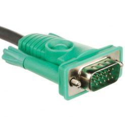 Cavo per KVM 15 HD Poli a 15 Poli e USB, 2L-5203U