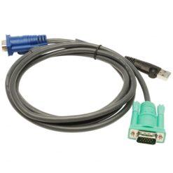 Cavo per KVM 15 HD Poli a 15 Poli e USB, 2L-5205U