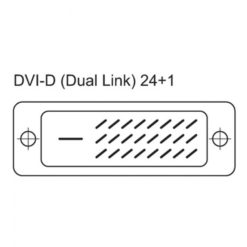 Cavo prolunga DVI-D Dual Link Maschio/Femmina 1,8 m