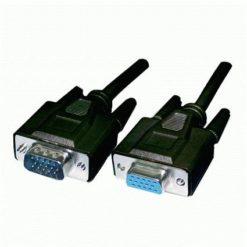 Cavo prolunga monitor SVGA standard M/F 3,0 mt NERO