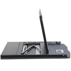 Console KVM USB/PS2 con LCD 19'' da Rack 19'' Dual Rail
