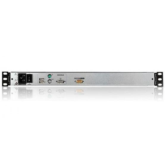 Console USB-PS2 VGA con LCD 19'' e porta USB (Dual Rail), CL5800N