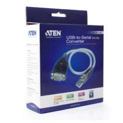 Convertitore Adattatore da USB a Seriale RS-232 Trasparente UC232A