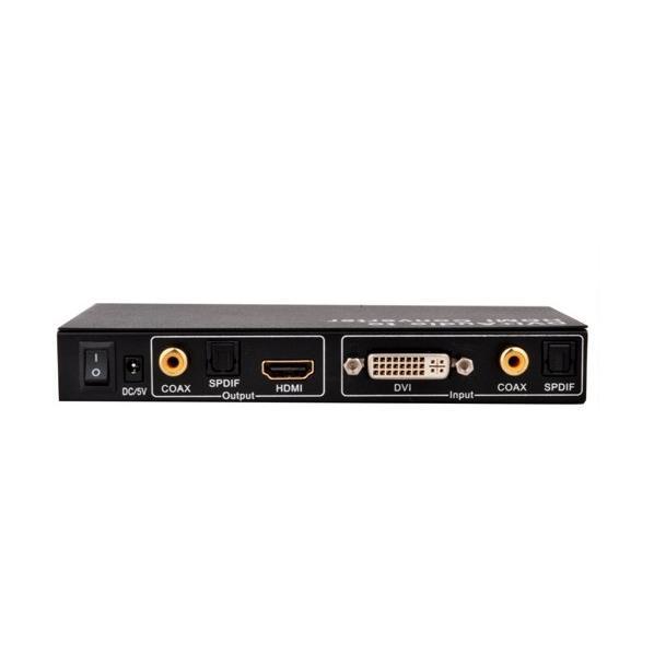Convertitore da DVI/Audio a HDMI