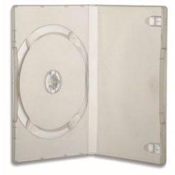Custodia per DVD/CD BOX Trasparente