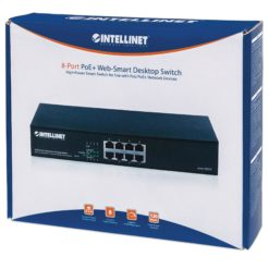 Desktop Web-Smart Switch 8 Porte PoE+