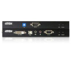 Estensore KVM USB DVI con audio e RS-232 60m, CE600