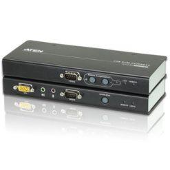 Estensore KVM USB VGA con audio e RS-232 200m, CE750A