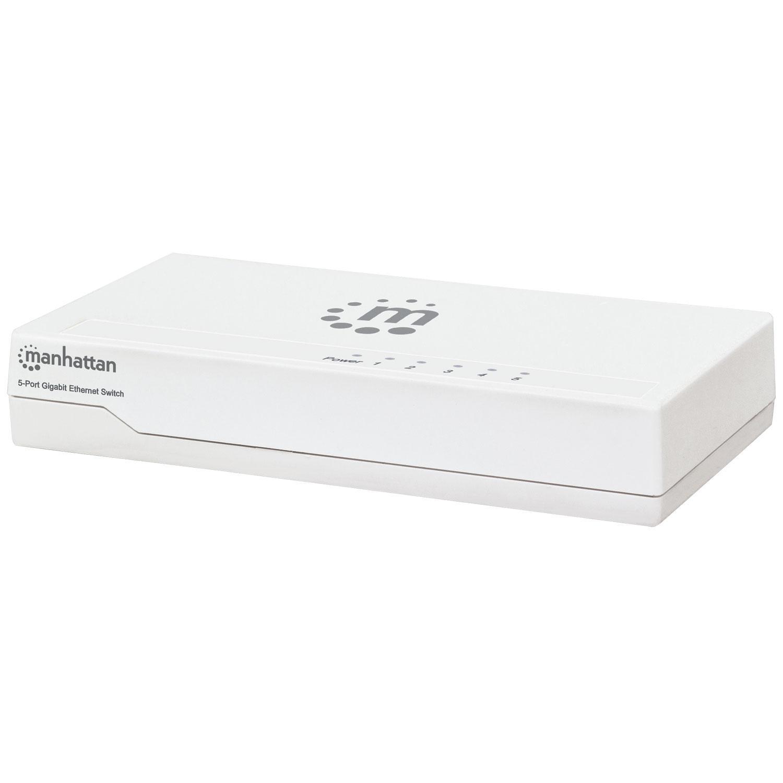 Ethernet Switch Gigabit 5 porte Desktop