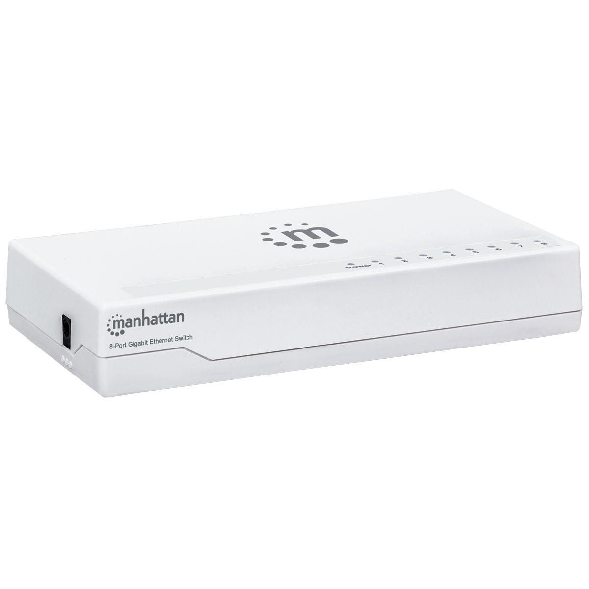 Ethernet Switch Gigabit 8 porte Desktop