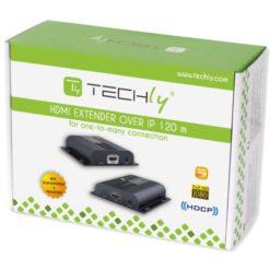 Extender HDMI HDbitT con IR su Cavo Cat.6 fino a 120m