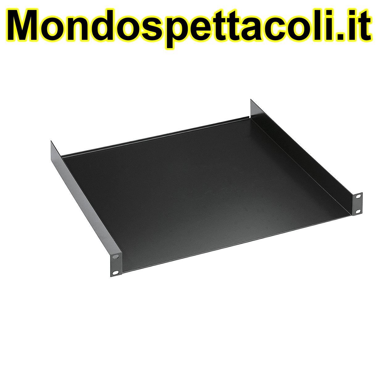 """K&M black 19"""" Rack shelf 28481-000-55"""