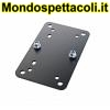 K&M black Adapter panel 2 24354-000-55