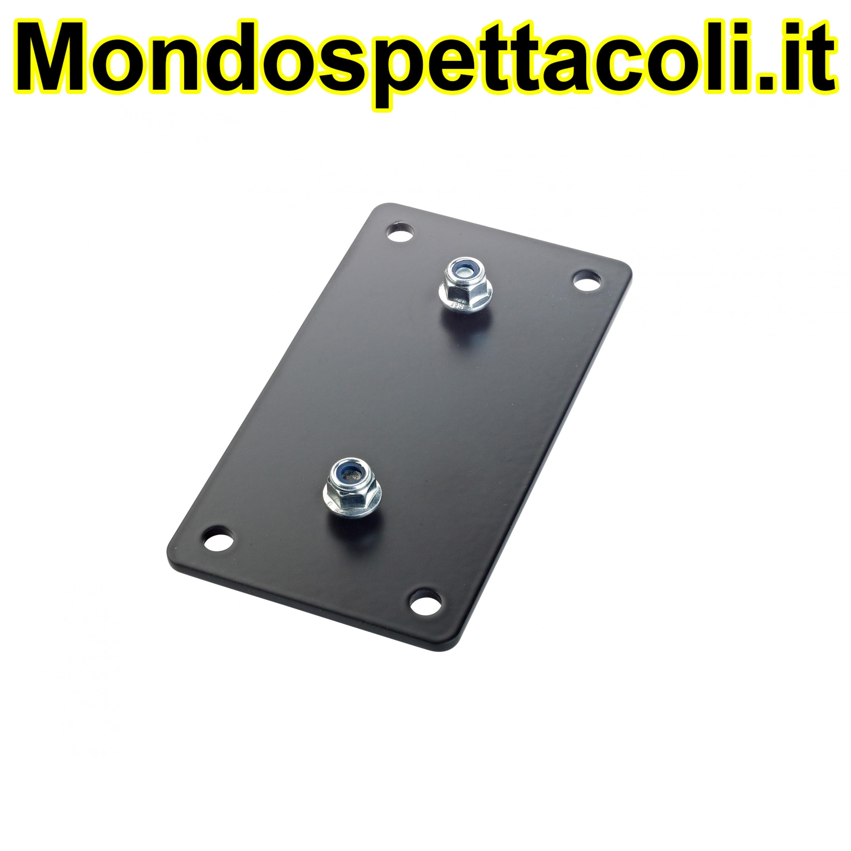 K&M black Adapter panel 3 24356-000-55