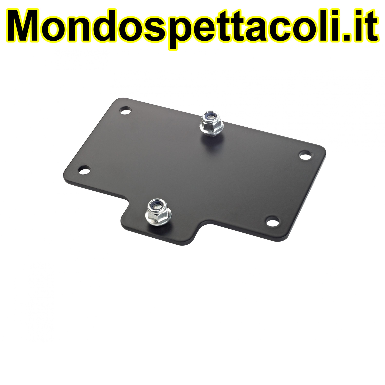 K&M black Adapter panel 4 24357-000-55