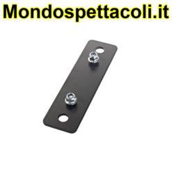 K&M black Adapter panel 5 24358-000-55