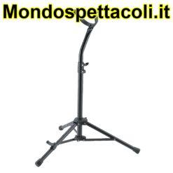 K&M black Baritone saxophone stand 14410-000-55