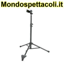 K&M black Bass clarinet stand 15060-011-55