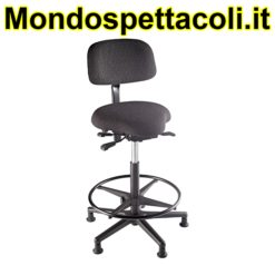 K&M black Bass stool 13460-000-55