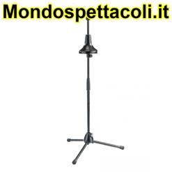 K&M black Bass trombone stand 14910-013-55