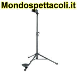K&M black Bassoon stand 15010-011-55