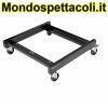 K&M black Chair cart 13490-000-55