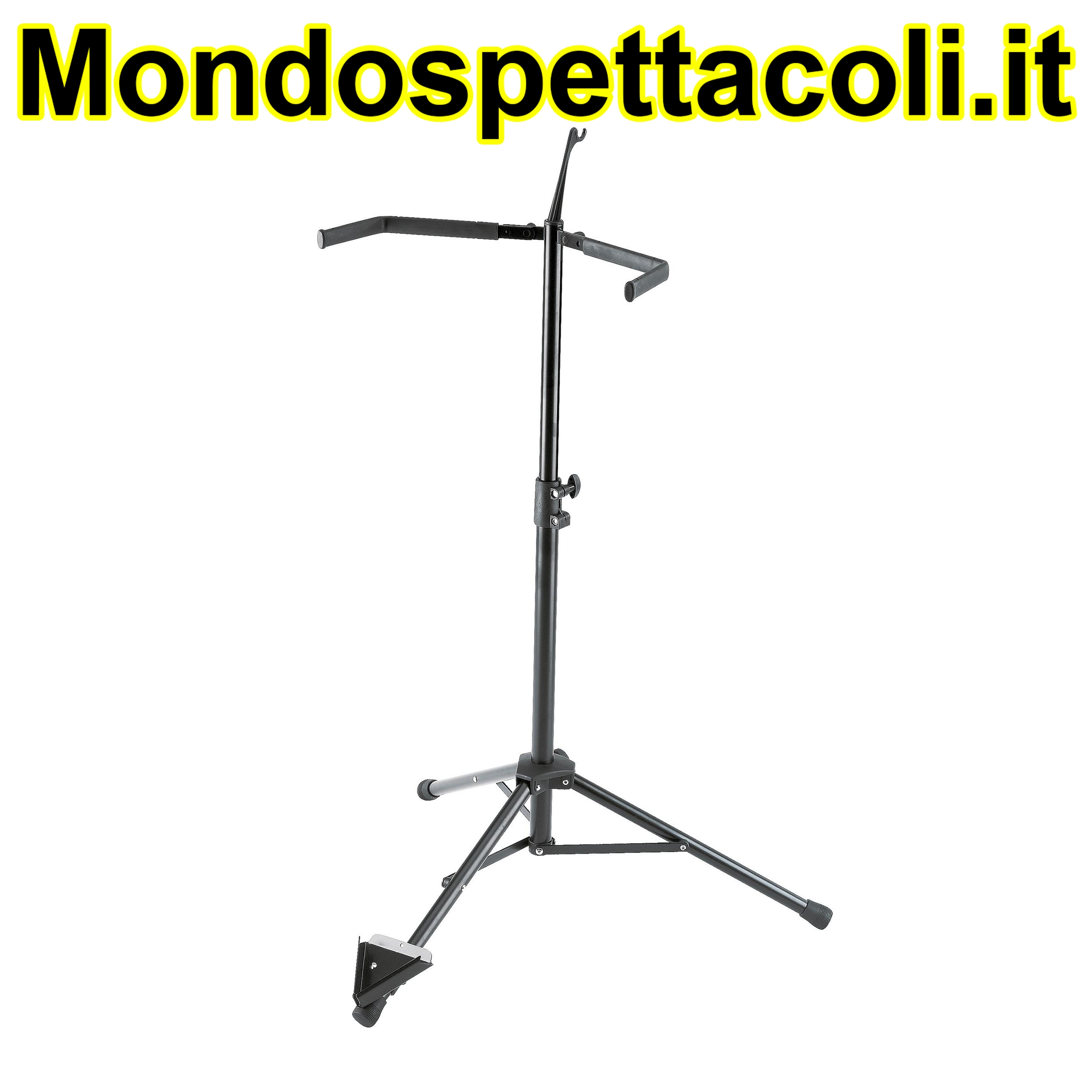 K&M black Double bass stand 14100-011-55