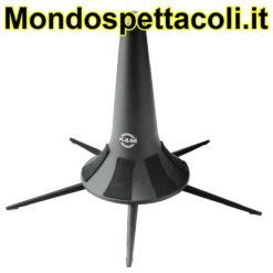 K&M black Flugelhorn stand 15240-000-55