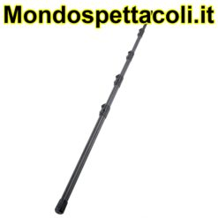 K&M black Microphone Fishing Pole 23790-000-55