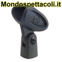 K&M black Microphone clip 85035-000-55