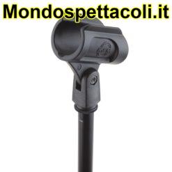 K&M black Microphone clip 85070-000-55