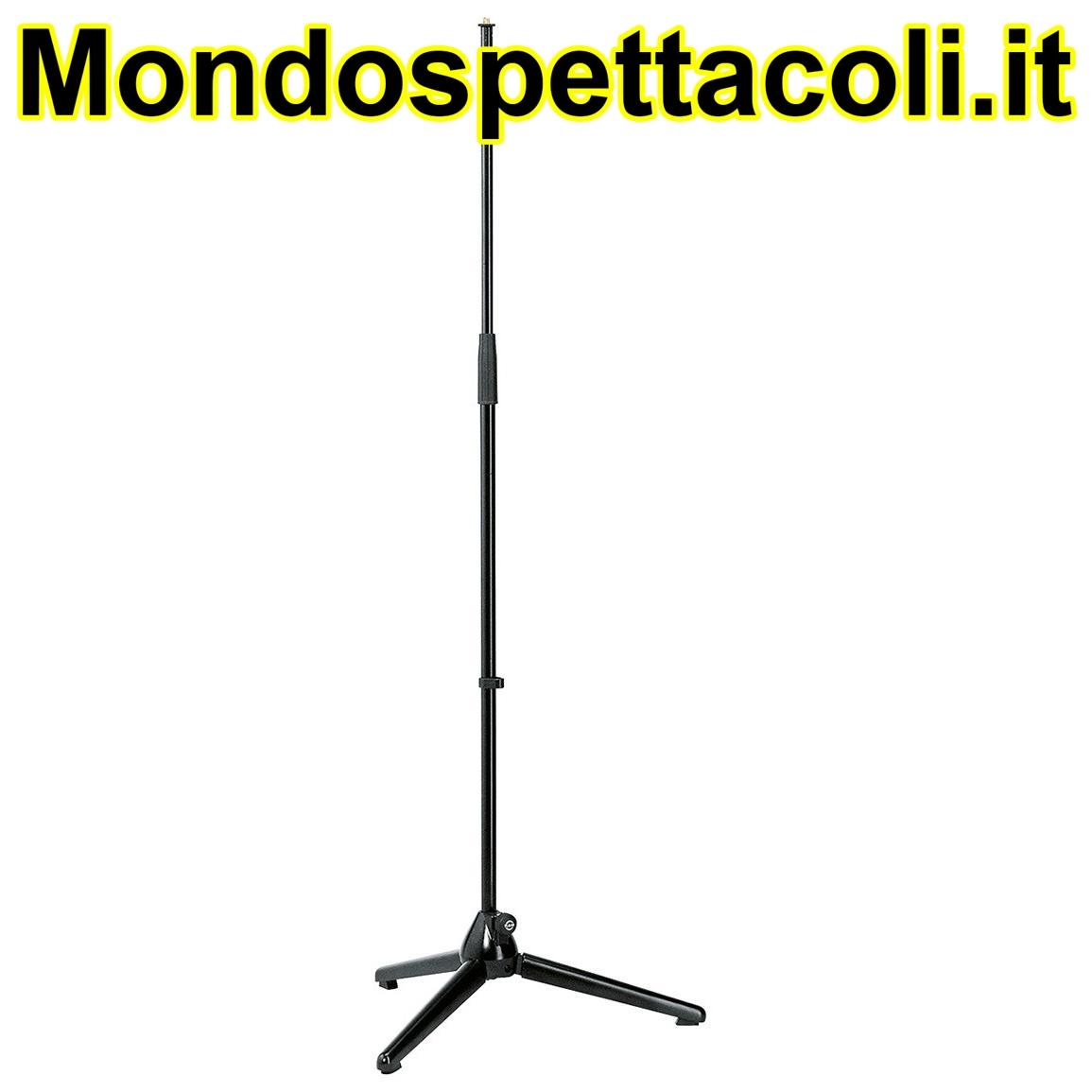 K&M black Microphone stand 20000-300-55