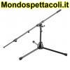 K&M black Microphone stand 25500-300-55