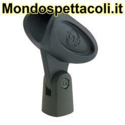 K&M black Mikrofonklammer 85050-000-55