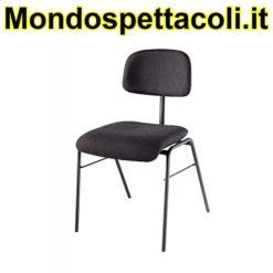 K&M black Musicianís chair 13420-000-55