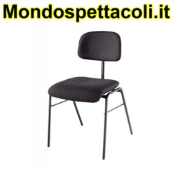 K&M black Orchestra chair 13430-000-55