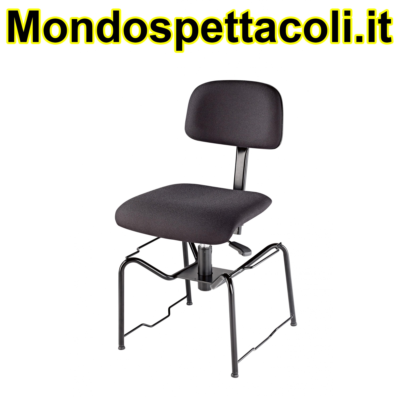 K&M black Orchestra chair 13440-000-55