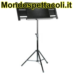 K&M black Orchestra conductor stand 12342-000-55