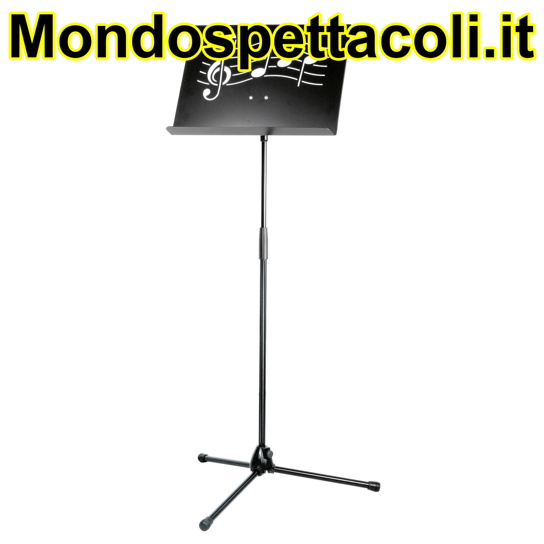 K&M black Orchestra music stand ªSymphony´ 11865-000-55